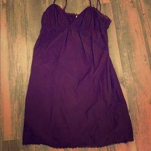 Purple dress with pockets